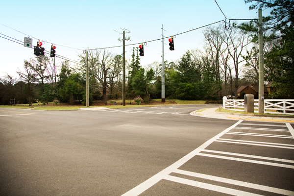 Jackson Sprayberry Roscoe Road Intersection